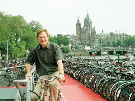 Rick Steves in Amsterdam