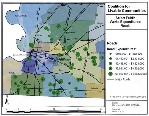 Roads Expenditures