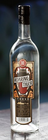 Roaring Tiger Vodka - JUSTIN FOX BURKS