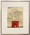 "Rosie's Window, part of Dolph Smith's ""Parting Shots"" exhibit"