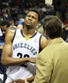 Rudy Gay, after his shoulder injury.