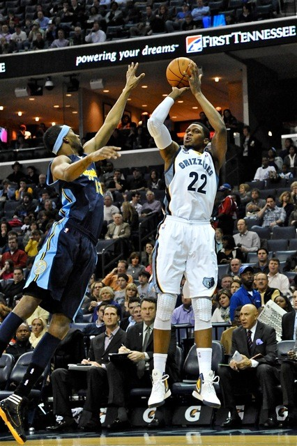 Rudy Gay and Corey Brewer battled in the games most eventful match-up, but Dante Cunningham dropped the bomb on the Nuggets.