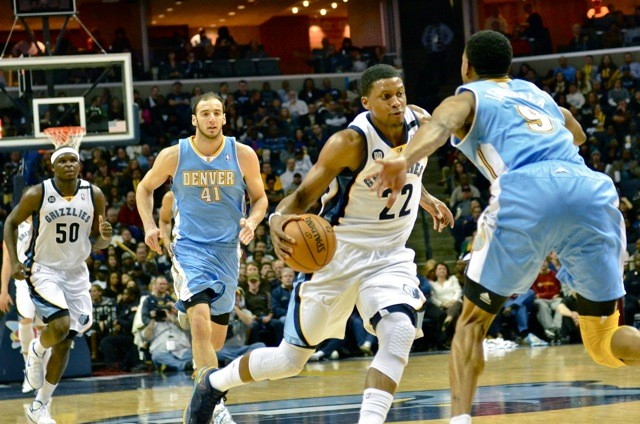 Rudy Gay took over the game to help the Griz get a much-needed win.