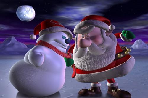 santa-vs-snowman-3d.jpg