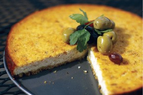 Savory cheesecake - BY JUSTIN FOX BURKS