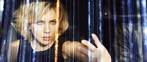 Scarlett Johansson stars in the fun and visually stunning film Lucy.