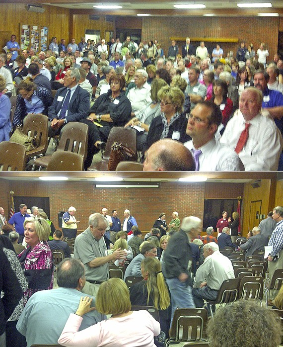 Scenes from vote night at East Shelby GOP