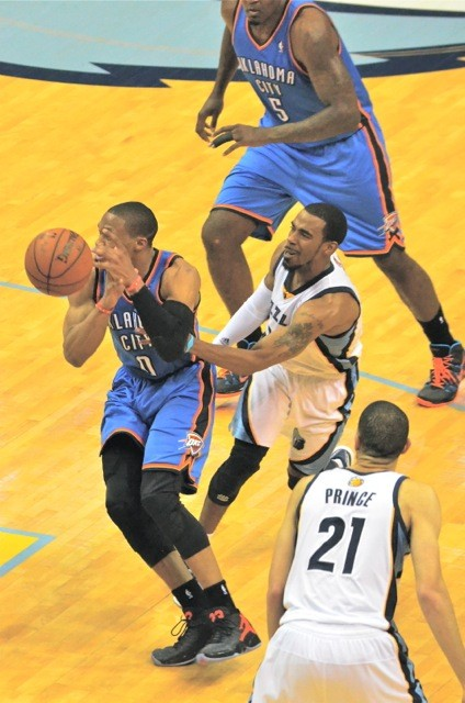See Mike Conley. See the ball. See Mike Conley poke the ball away from Westbrook.