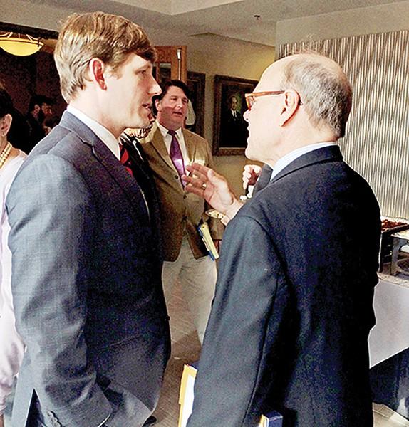 Senator Kelsey with U.S. Rep. Steve Cohen