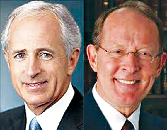 Senators Bob Corker and Lamar Alexander