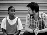 Shareeka Epps and Ryan Gosling in Half Nelson
