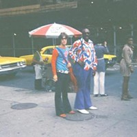 Robert Johnson's Close Personal Friends Shown here with Isaac Hayes for whom Johnson played guitar in the early 1970s before moving to New York and then to London. Courtesy of Robert Johnson