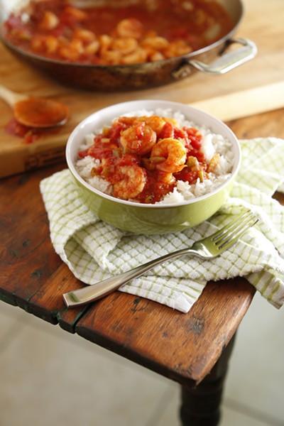 Shrimp Creole - JUSTIN FOX BURKS