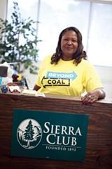 Sierra Club Chickasaw's Environmental Justice Coordinator, Rita Harris - JUSTIN FOX BURKS