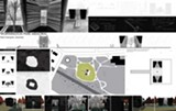 IMAGE COURTESY OF JOHN HARRISON JONES ARCHITECT - Site plan of the memorial for the slain West Memphis police officers