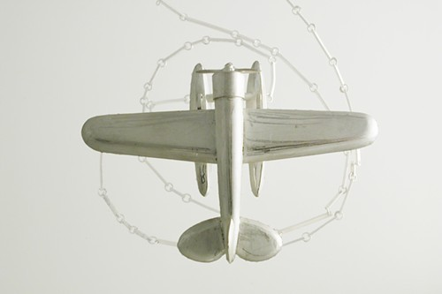 Sondra Sherman, Listen to the Wind pendant, 2010,  sterling silver, (Sienna Gallery, Lenox, MA)