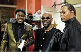 Soul men Bernie Mac, Isaac Hayes, and Samuel L. Jackson