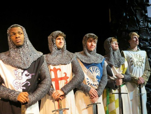 Spamalot at Memphis University School