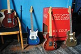 St. Blues offers four models of customized guitars.