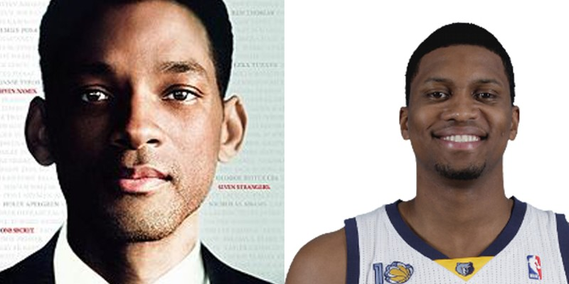 """Memphis Grizzlies: The Movie Starring in the film is international superstar Will Smith as Rudy Gay. """"Memphis Grizzlies: The Movie"""" is going to make a billion dollars."""