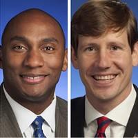 State Senators Harris and Kelsey