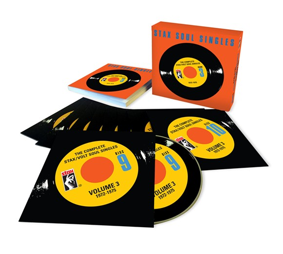 Stax Soul Singles Volume 3 in all it's glory.