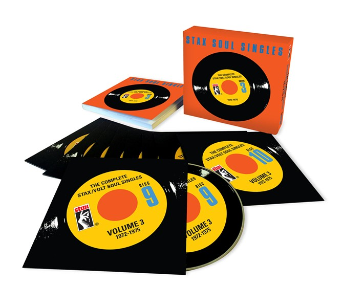 Stax Soul Singles Volume 3 in all it's glory.