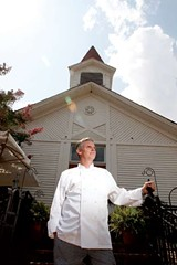 JUSTIN FOX BURKS - Stephen Watermeier: new chef at - The Old Church.