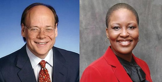 Steve Cohen and Tomeka Hart
