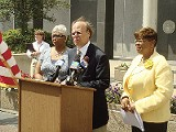JACKSON BAKER - Steve Cohen announcing the minimum wage increase