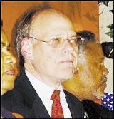 Steve Cohen at his Palm Court victory party - CHRIS DAVIS