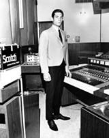 Steve Cropper modeled for Lansky's - COURTESY OF LANSKY'S ARCHIVES