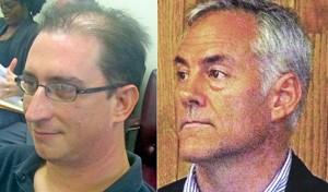Steve Ross (left); Steve Basar