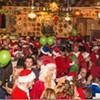 Stumbling Santas All Over Downtown