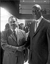 Superintendent Kriner Cash and Mayor Willie Herenton