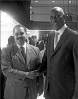 JACKSON BAKER - Superintendent Kriner Cash and Mayor Willie Herenton
