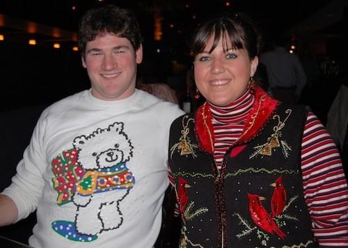 Tacky sweaters