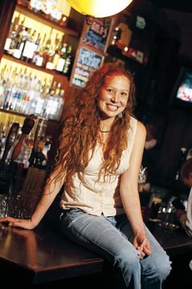 "Tara White, 1st place: ""Best Bartender"" - JUSTIN FOX BURKS"