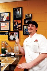 JUSTIN FOX BURKS - Terry Bomar of Pizza Shack