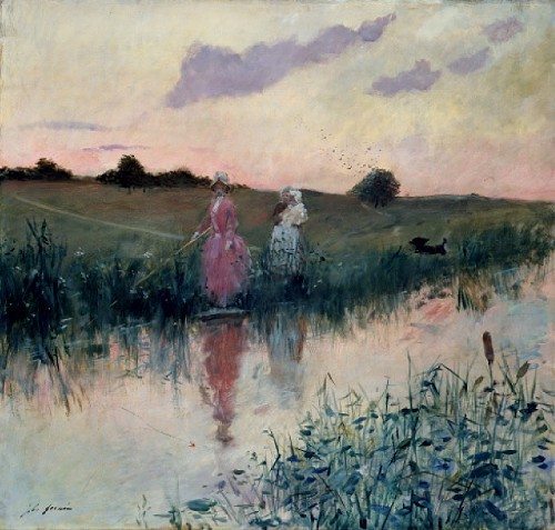 The Artists Wife Fishing