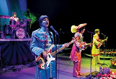 The Beatles tribute show Rain - CYLLAVON TIEDEMANN
