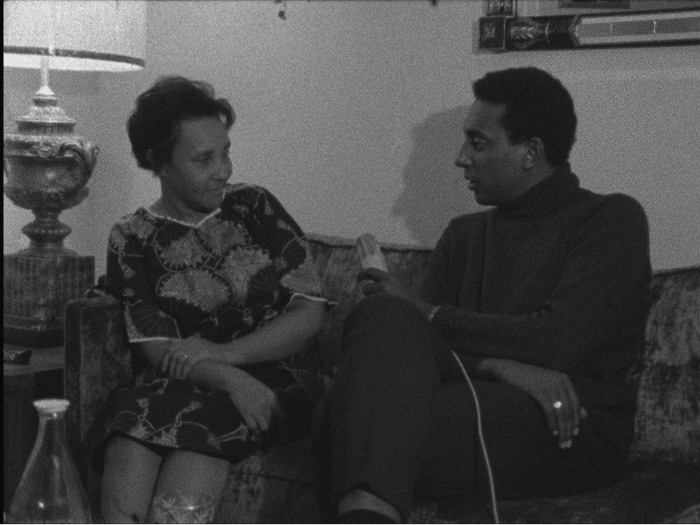 Stokely Carmichael interviews his mother, Mabel.