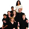 The cast of Angels in America