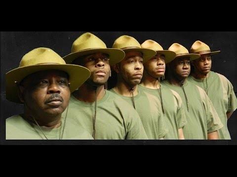 The cast of Camp Logan