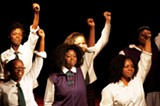 The cast of Sarafina!