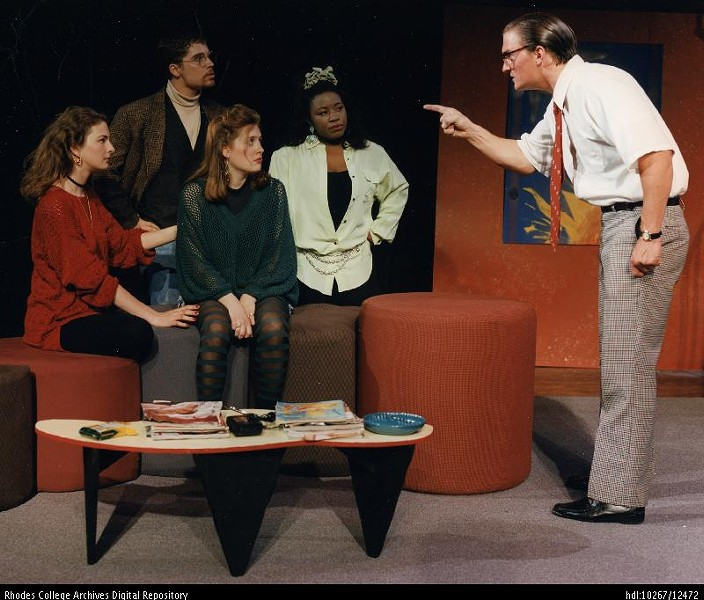 The cast of  Tartuffe. Rhodes College, 1994 - MCCOY THEATRE