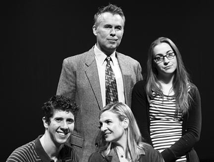 The cast of the Playhouse production of Next to Normal