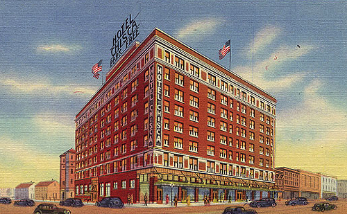 The Chisca Hotel in its heyday
