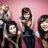 The interactive, romper-room punk of Coathangers.