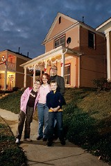 The Donnelly-Bullington family moved  to Uptown from Cooper-Young. - JUSTIN FOX BURKS